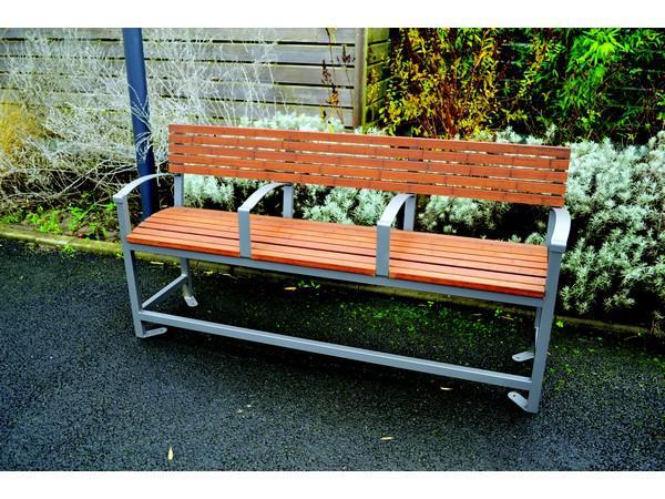 banc bambou evolution mobilier de repos bancs et fauteuil acier bois acodis s nior. Black Bedroom Furniture Sets. Home Design Ideas